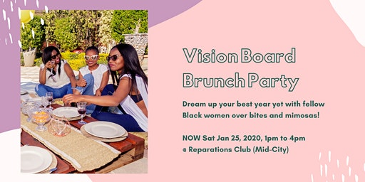 Vision Board Brunch for Black Women in LA
