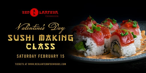 Valentine's Day Sushi Making Class