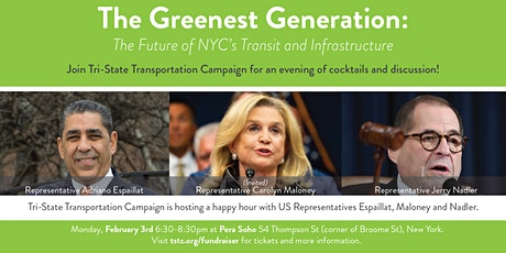 The Greenest Generation: The Future of NYC's Transit and Infrastructure tickets