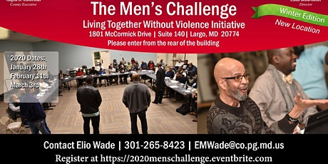 The Men's Challenge Initiative- Living Together Without Violence Winter Edition  tickets