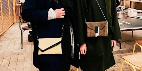 Workshop lederbewerking: ontwerp en maak je eigen handtasje! billets