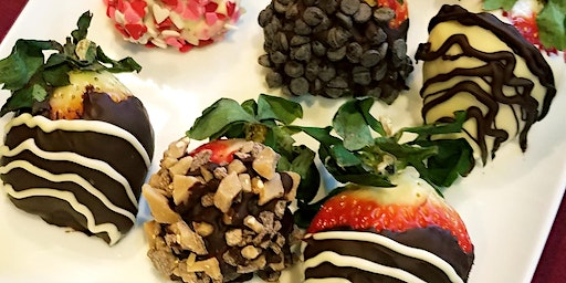 Valentine's Day Chocolate Dipped Strawberry Tasting Event