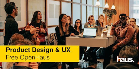 Product Design & UX OpenHaus tickets