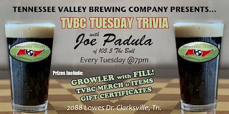TVBC Tuesday Trivia with Joe Padula™ tickets