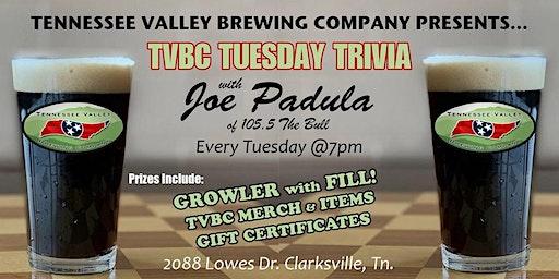 TVBC Tuesday Trivia with Joe Padula™