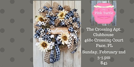 Farmhouse Welcome Wreath Private Team Event for NF tickets