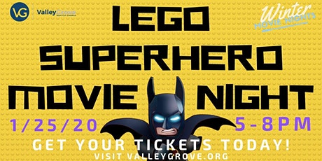 Family Movie Night: LEGO Superheroes tickets