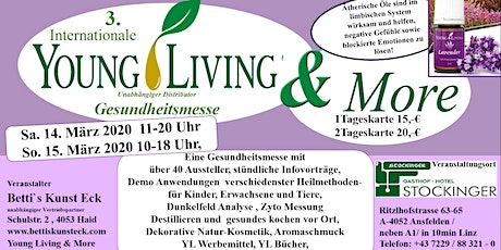 3. Internationale Young Living & More Gesundheitsmesse Tickets
