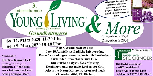3. Internationale Young Living & More Gesundheitsmesse