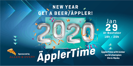 TQ ÄpplerTime! New Year - Get your Beer Tickets
