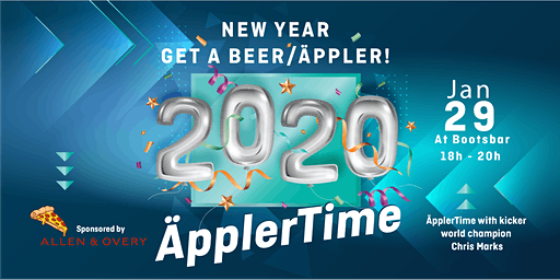 TQ ÄpplerTime! New Year - Get your Beer