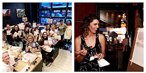 Wine Painting + Tasting Workshop with Elysia Myers x Blanchard Wine