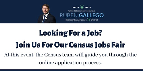 Census Jobs Fair tickets