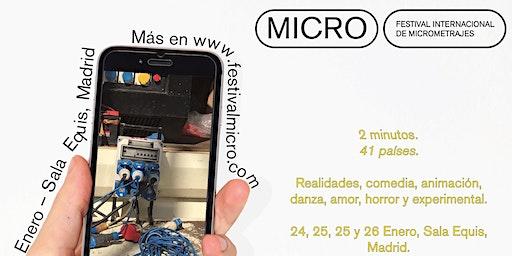 Festival Internacional de Micrometrajes - Sala Equis