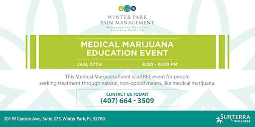 Medical Marijuana Education Event