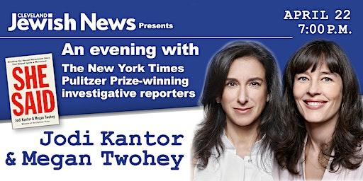 An Evening with Jodi Kantor & Megan Twohey