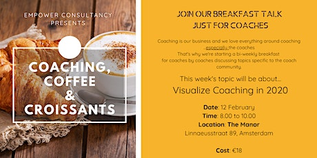 Coaching, Coffee & Croissants tickets