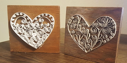 Late Night Craft Party: Hearts Quillin' and Chillin' with See Lang Design