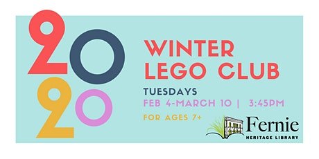 Winter Lego Club REGISTRATION tickets