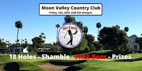 Moon Valley Country Club 18-Hole Tournament  by: Golf & Grow tickets