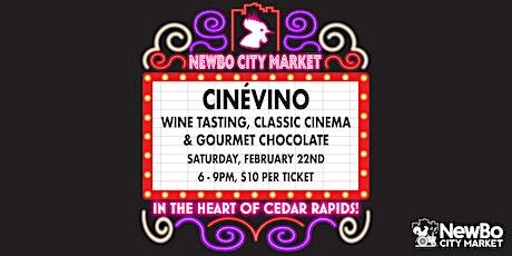 CinéVino at NewBo City Market tickets