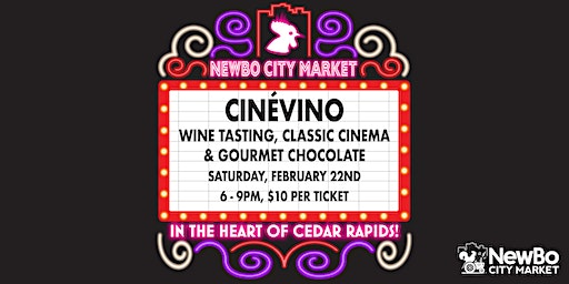 CinéVino at NewBo City Market