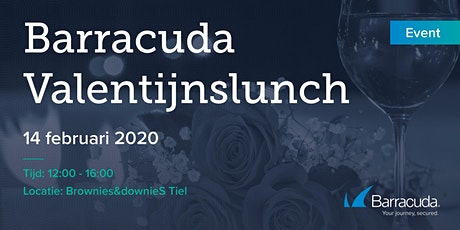 Barracuda Valentijnslunch bij Brownies&DownieS tickets