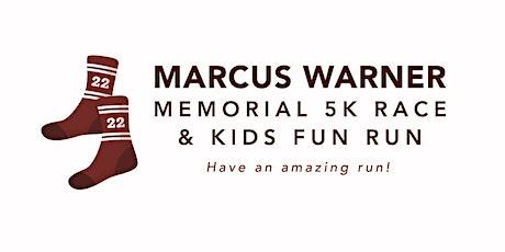 Marcus Warner Memorial Race & Kids Fun Run tickets