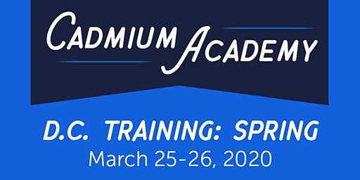 D.C. Training #1 (Spring 2020) [Clients Only]