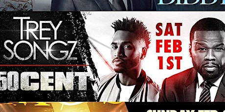 Trey Songz, 50 Cent The Big Game Weekend 2020 Cameo Miami tickets