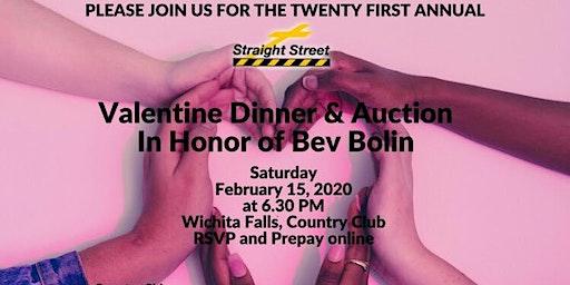 Valentines Dinner & Auction