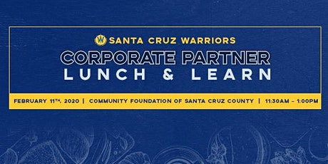 Corporate Partner Lunch and Learn - February tickets