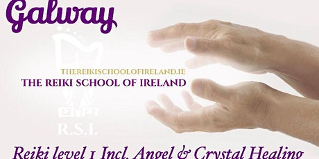 Reiki Level 1 including Angel & Crystal Healing tickets