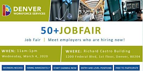 Job Seeker Registration - Back to Work 50+ Job Fair (March 4, 2020) tickets