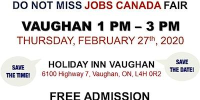 Vaughan Job Fair - February 27th, 2020