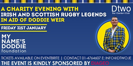 A Night for Doddie with Scottish and Irish Legends tickets