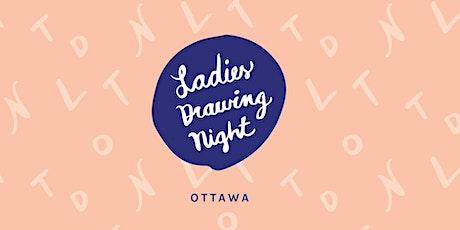 Ladies Drawing Night Ottawa: January tickets
