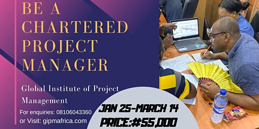 Project Management Training and Certification (OYO STATE)