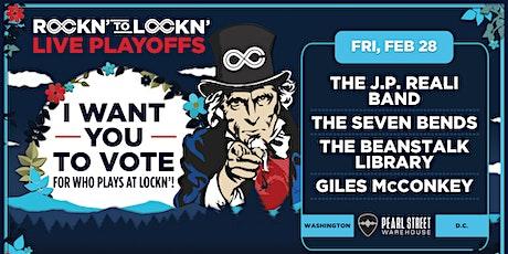ROCKN' to LOCKN' tickets