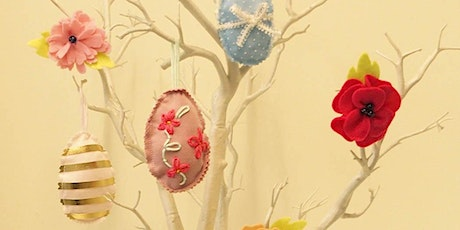 Embroidered Easter Decorations tickets