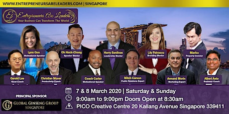 Public Speaking Course - Entrepreneurs Are Leaders 7 & 8 March 2020 Morning tickets