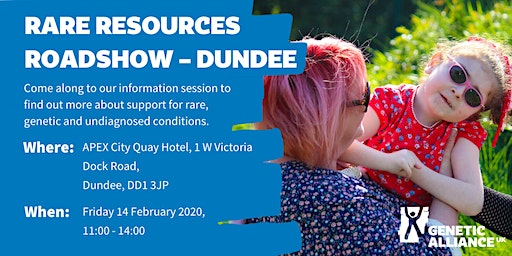 Rare Resources Roadshow - Dundee