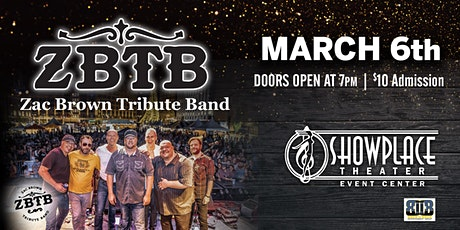 ZBTB band .Nations #1 Zac Brown Tribute Band tickets