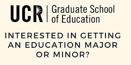 Education Major/Minor Information Session tickets
