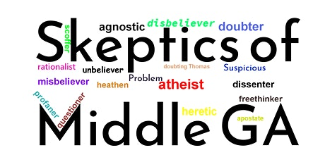 Skeptics of Middle GA Semi Monthly Meetup tickets
