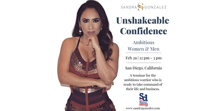 Unlock Unshakeable Confidence, & Take Command of your Life & Business. tickets