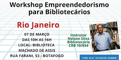 Workshop Aprenda a Atuar Como um Bibliotecário Empreendedor ingressos