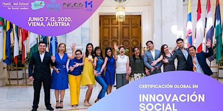 Certificación Internacional en Gestión de la Innovación Social tickets
