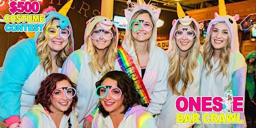 Onesie Bar Crawl - Greenville