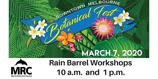 Botanical Fest Rain Barrel Workshops